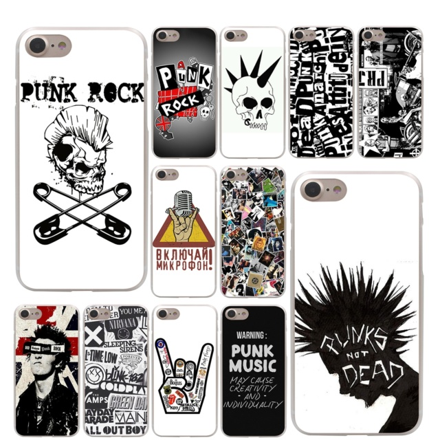 Punk Rock iPhone Case Color : 1|2|3|4|5|6|7|8|9|10|11|12