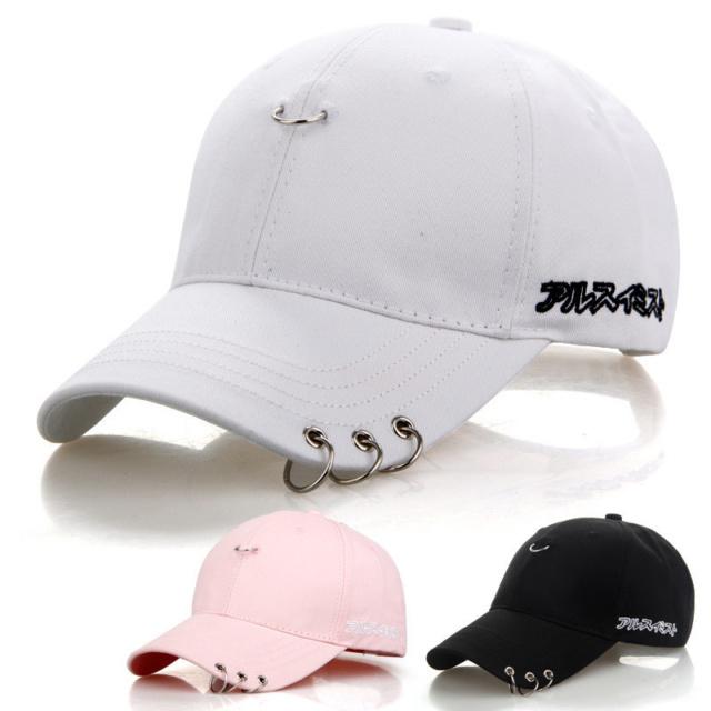 BTS JIMIN RING CAP (3 VARIAN) Color : Black|White|Pink