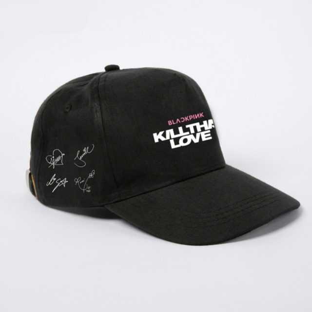BLACKPINK KILLTHIS LOVE CAPS Color : Black