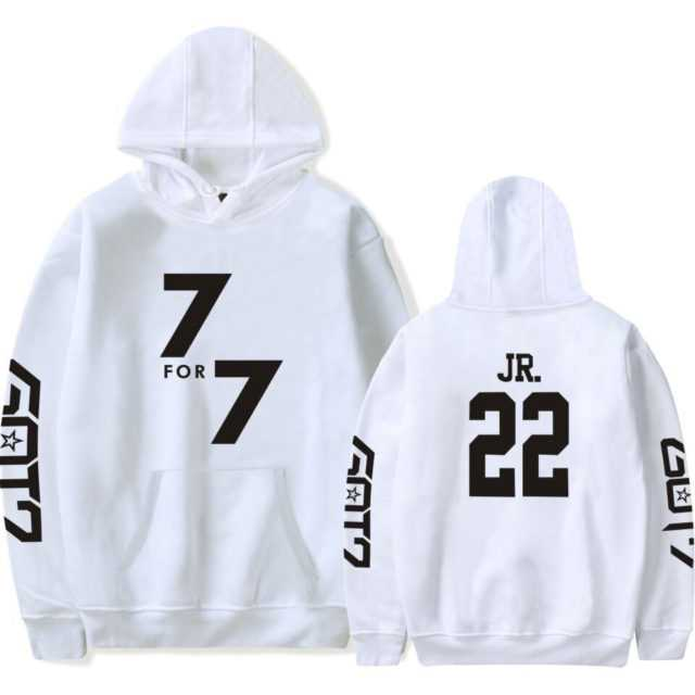 GOT7 HOODIE (26 VARIAN) Color : Black 02 BAMBAM|Black 04 MARK|Black 06 JB|Black 17 YOUNGJAE|Black 22 JR|Black 28 JACKSON|Black 97 YUGYEOM|Red 02 BAMBAM|Red 04 MARK|Red 06 JB|Red 17 YOUNGJAE|Red 22 JR|Red 28 JACKSON|Red 97 YUGYEOM|White 02 BAMBAM|White 04 MARK|White 06 JB|White 17 YOUNGJAE|White 22 JR|White 28 JACKSON|White 97 YUGYEOM|navy|pink|white|Gray|black