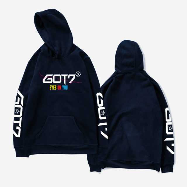 GOT7 EYES ON YOU HOODIE (6 VARIAN)