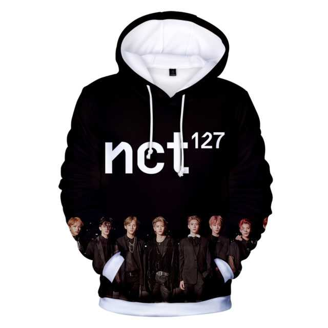 NCT 127 3D HOODIE Color : Q2017