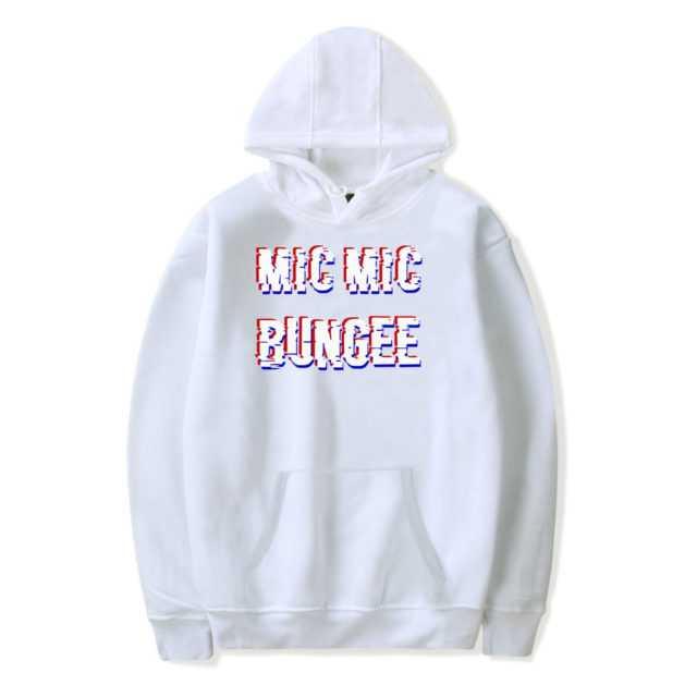 BTS MIC MIC BUNGEE HOODIE (6 VARIAN) Color: WHITE Size: XXS|XS|S|M|L|XL|XXL|XXXL|4XL