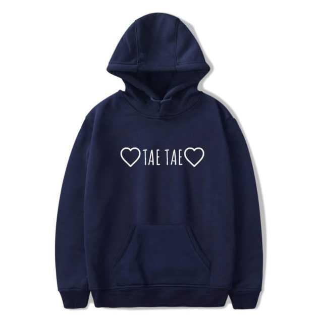 BTS TAE TAE HOODIE (5 VARIAN) Color: blue Size: XXS|XS|S|M|L|XL|XXL|XXXL