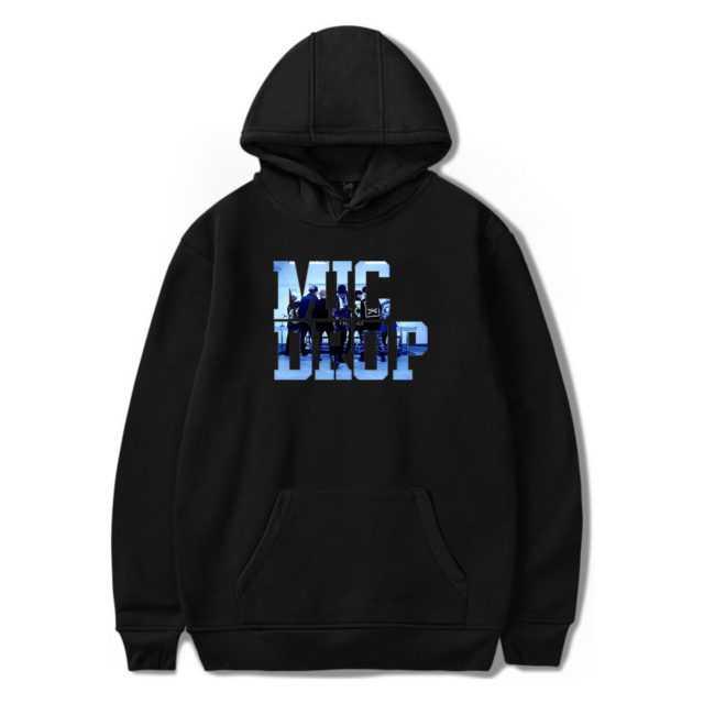 BTS MIC DROP HOODIE (6 VARIAN) Color: Black Size: XXS|XS|S|M|L|XL|XXL|XXXL