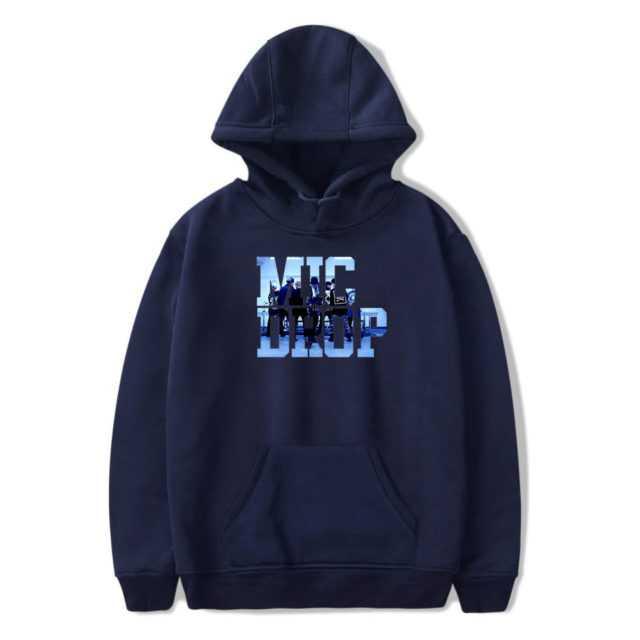 BTS MIC DROP HOODIE (6 VARIAN) Color: Blue Size: XXS|XS|S|M|L|XL|XXL|XXXL