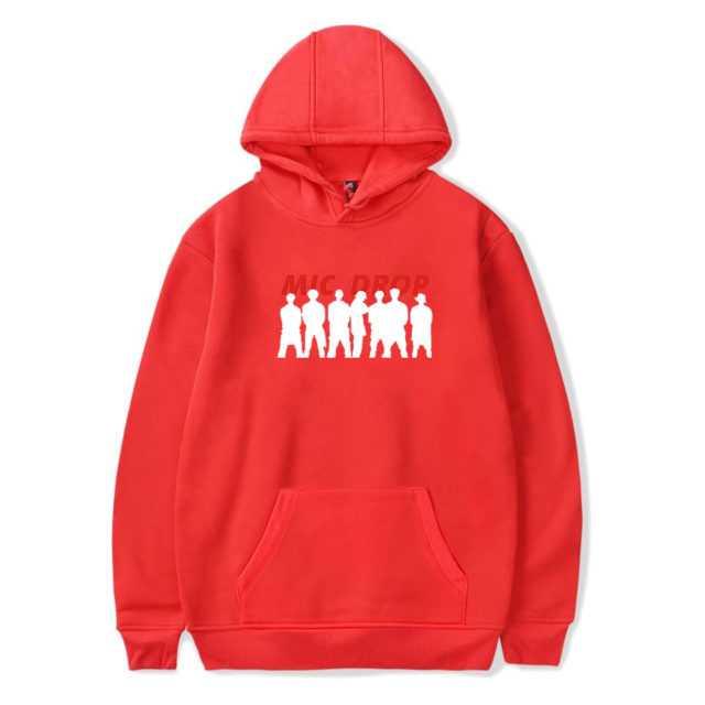 BTS MIC DROP HOODIE (6 VARIAN) Color: RED Size: XXS|XS|S|M|L|XL|XXL|XXXL|4XL