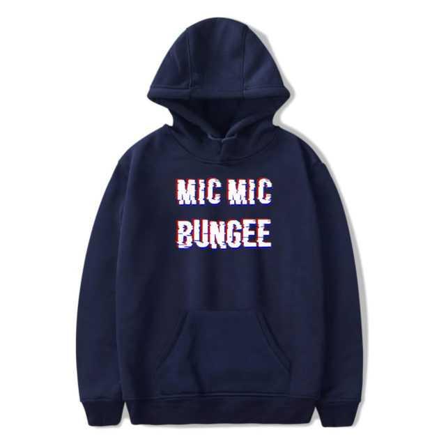 BTS MIC MIC BUNGEE HOODIE (6 VARIAN) Color: BLUE Size: XXS|XS|S|M|L|XL|XXL|XXXL|4XL