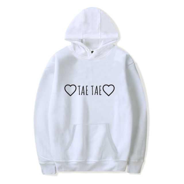 BTS TAE TAE HOODIE (5 VARIAN) Color: white Size: XXS|XS|S|M|L|XL|XXL|XXXL