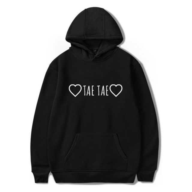 BTS TAE TAE HOODIE (5 VARIAN) Color: black Size: XXS|XS|S|M|L|XL|XXL|XXXL