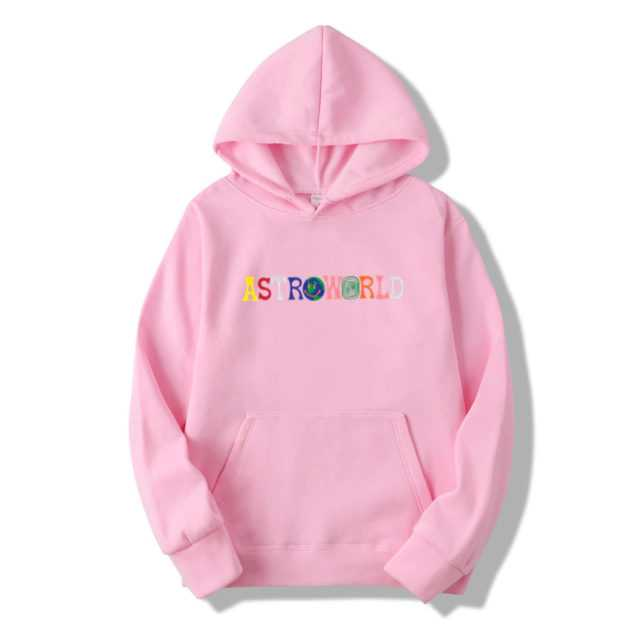 TRAVIS SCOTT ASTROWORLD WISH YOU WERE HERE HOODIES (12 VARIAN) Color : Pink|Red|Black|Light Gray|Dark Gray|Blue|White|Khaki|Orange|Purple|Navy Blue|Yellow