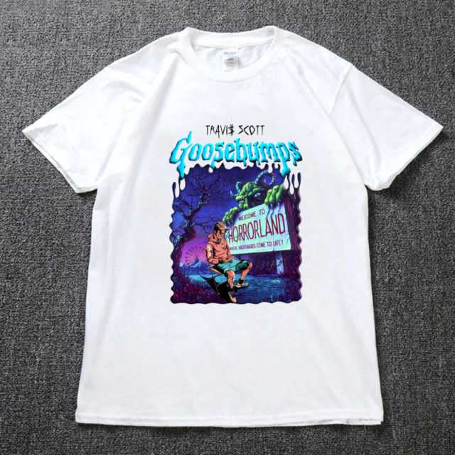 TRAVIS SCOTTS GOOSEBUMPS T-SHIRT (3 VARIAN)