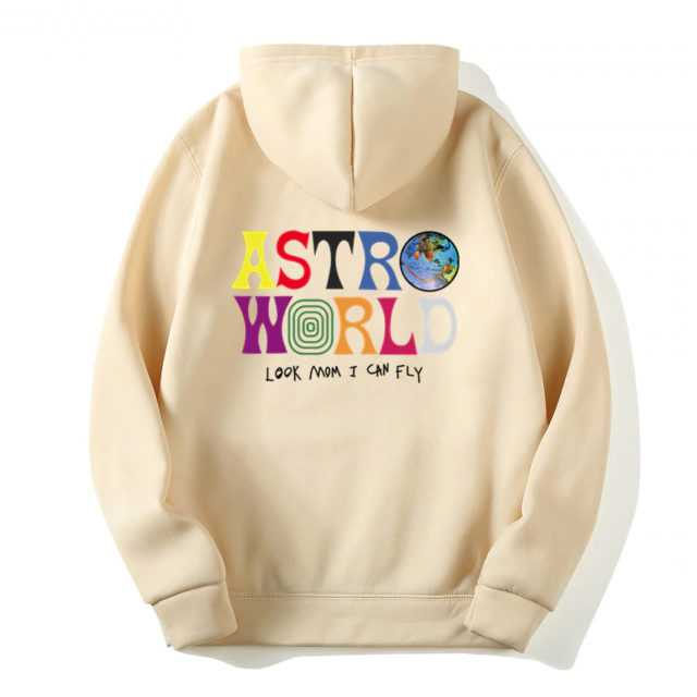 TRAVIS SCOTT ASTROWORLD HOODIE (12 VARIAN) Color : Pink|Red|Black|Light Gray|Dark Gray|Blue|White|Khaki|Orange|Purple|Navy Blue|Yellow