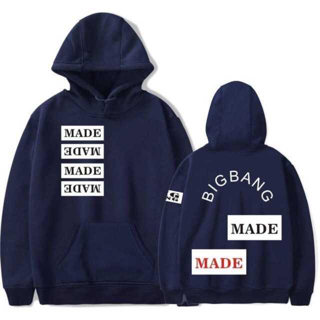 BIGBANG MADE MADE HOODIE (6 COLORS)
