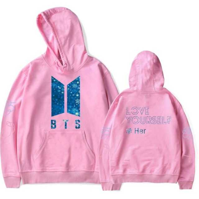 "BTS LOVE YOURSELF "" HER"" HOODIE (6 COLORS)"