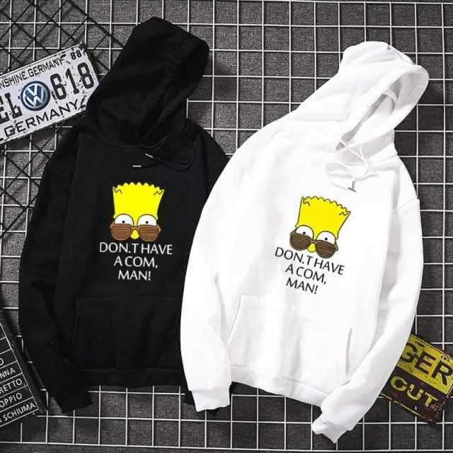 DONT HAVE A COM MAN KOREAN STYLE HOODIE (5 VARIAN)