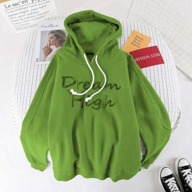 DREAM HIGH EMROIDERY HOODIE