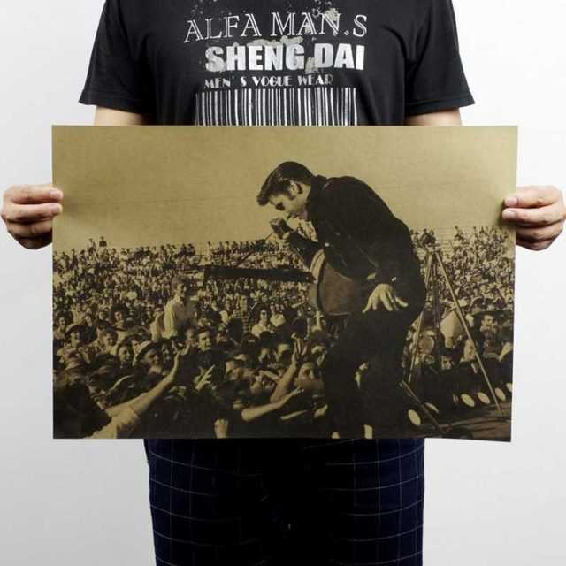 Elvis Presley Wall Poster 51×35.5CM