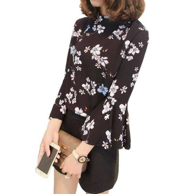 FLORAL BLOUSE (2 COLORS)