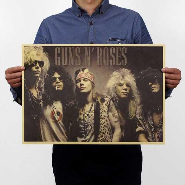 Guns N Roses Wall Poster 51x35.5cm