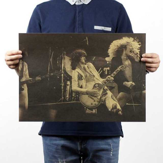 Led Zeppelin Wall Poster 51×35.5CM