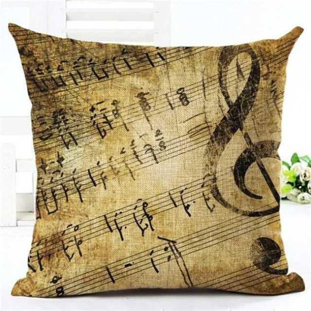 Music Series Pillow Case