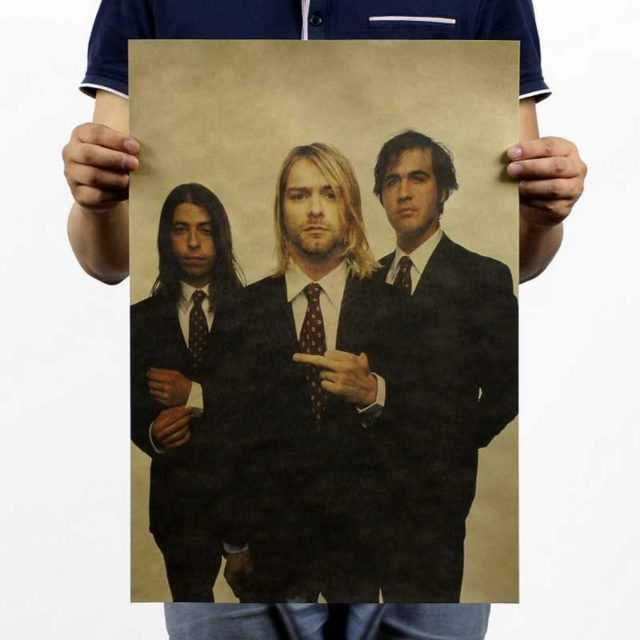 Nirvana Wall Poster 51×35.5CM