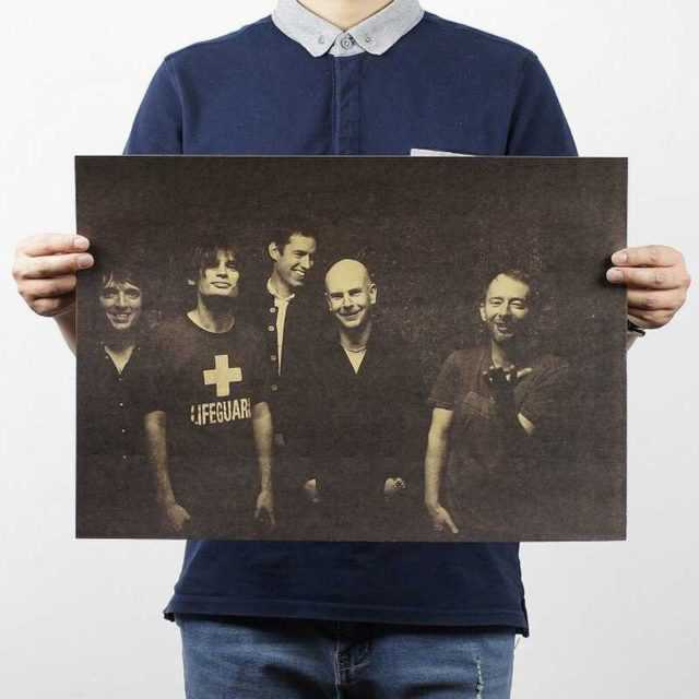 Radiohead Wall Poster 51x35.5CM