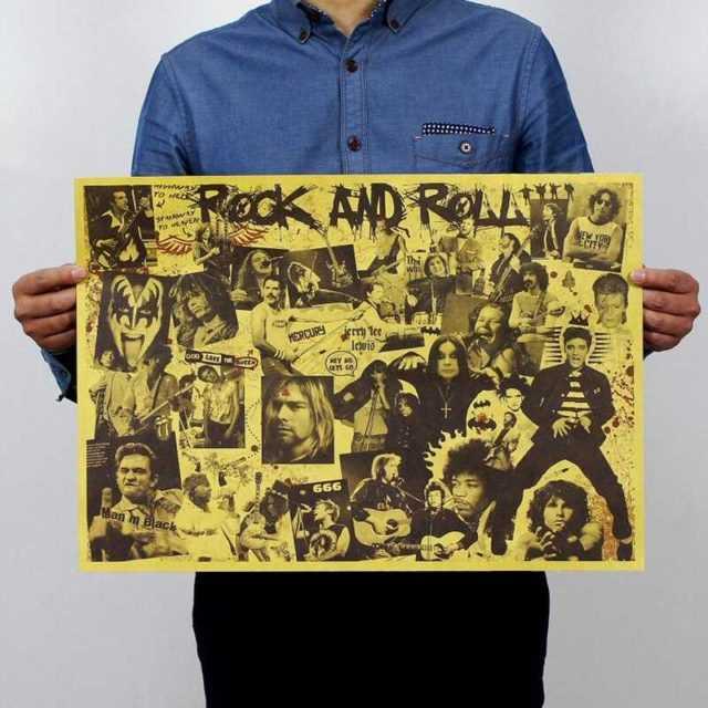 Rock Star Wall Poster 51x35.5CM