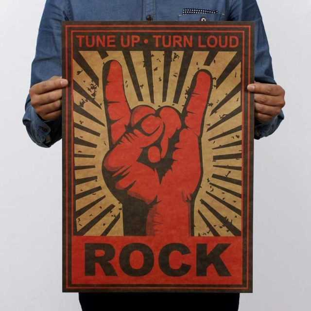 Tune Up Tune Loud Wall Poster 51×35.5cm