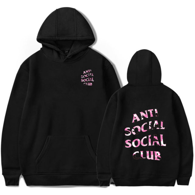 ANTI SOCIAL CLUB A.S.S.C HOODIE (6 VARIAN) Color : 1|2|3|4|5|6