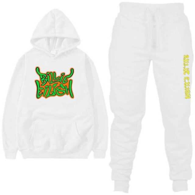 SET BILLIE EILISH HOODIE + TROUSERS (22 VARIAN)