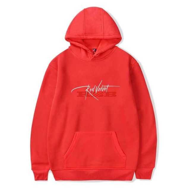 Red Velvet Cool Logo Fashion Hoodies Sweatshirt 2018 New Album Girls or Boys Oversize Harajuku Kpop Oversize Clothes