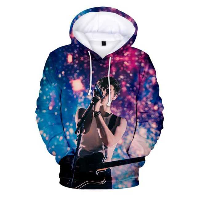 SHAWN MENDES THEMED 3D HOODIE (10 VARIAN)