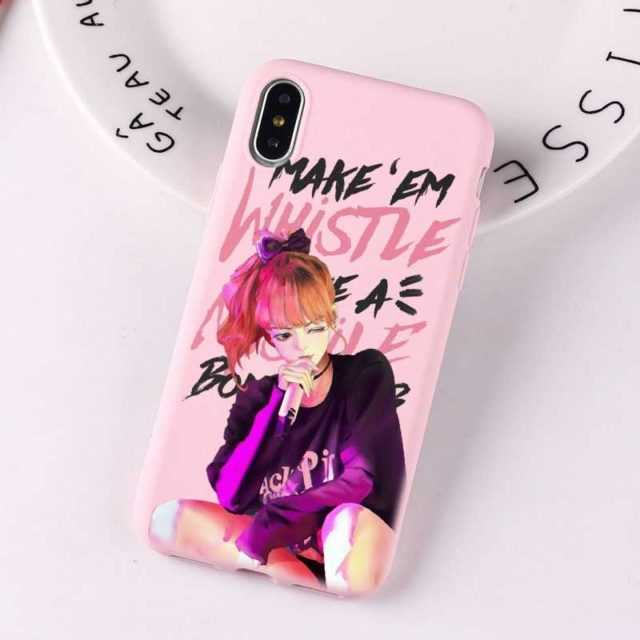 BLACKPINK THEMED IPHONE CASE (17 VARIAN)