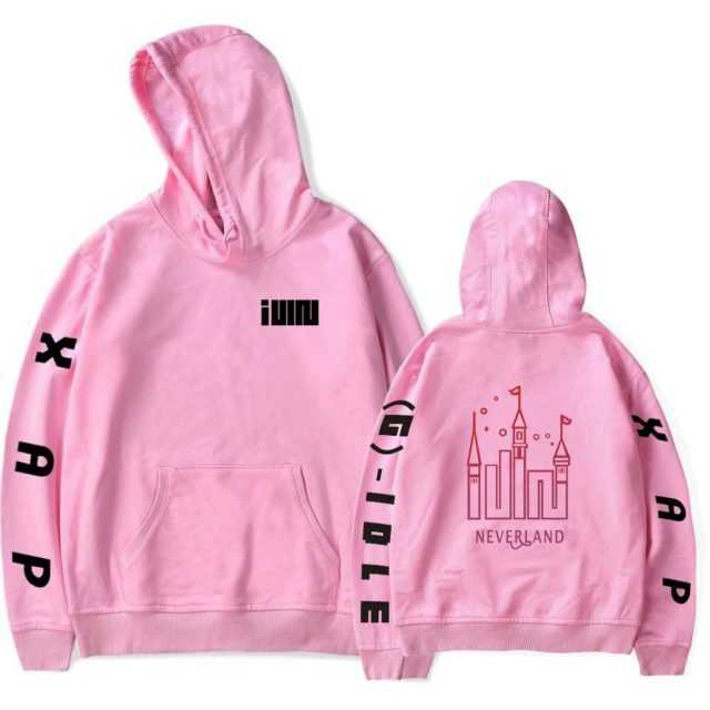 (G)I-DLE THEMED HOODIE (20 VARIAN)