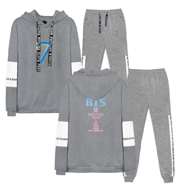 MAP OF THE SOUL : 7 HOODIE + TROUSERS (4 VARIAN)