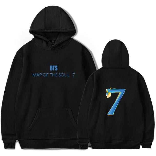 MAP OF THE SOUL : 7 HOODIE (6 VARIAN)