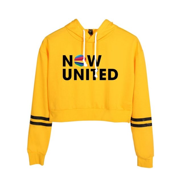 WAMNI 2020 Now United Crop hoodie Sweatshirts Women  Pullover Unisex Harajuku Tracksui