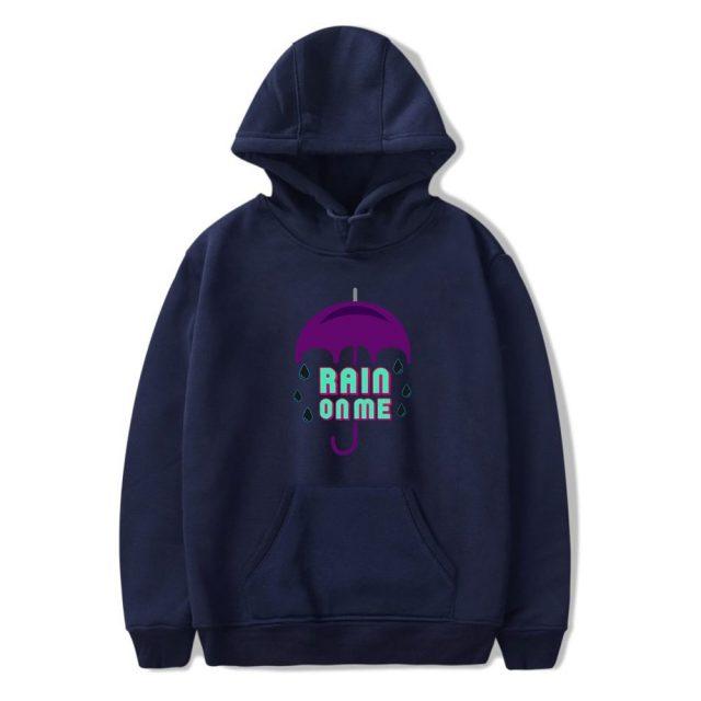 2020 Rain on Me Ariana Grande Pullover hoodies Men Women Funny Print Hoodie Sweatshirts Unisex Tracksuit
