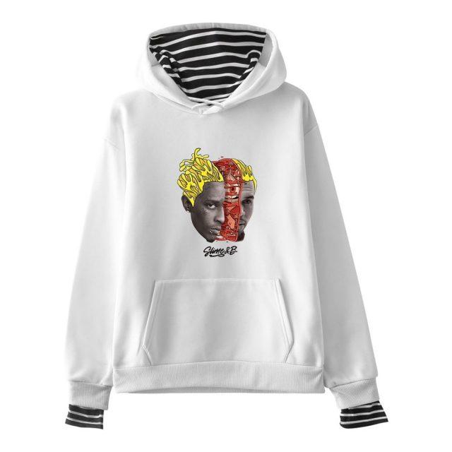 Chris Brown & Young Thug Go Crazy hoodies Men Women Print Funny Hoodie Sweatshirts Unisex Tracksuit