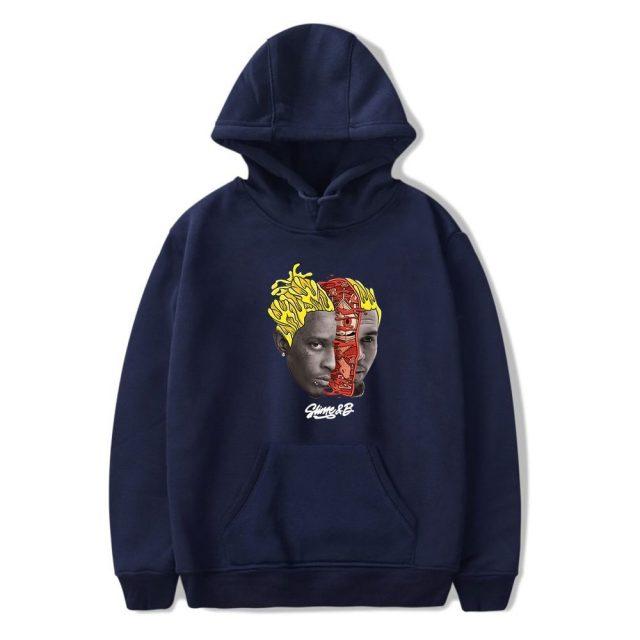 Chris Brown & Young Thug Go Crazy hoodies Men Women Print Funny Vintage Hoodie Sweatshirts Unisex Tracksuit