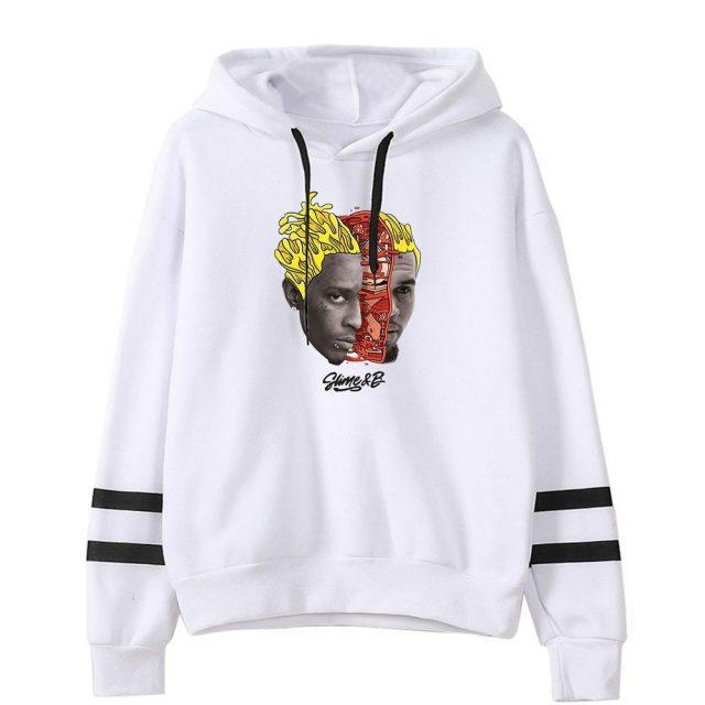 Chris Brown & Young Thug Go Crazy hoodies women Print hoodie Hand sleeve Sweatshirt Unisex Pullover Tracksuit